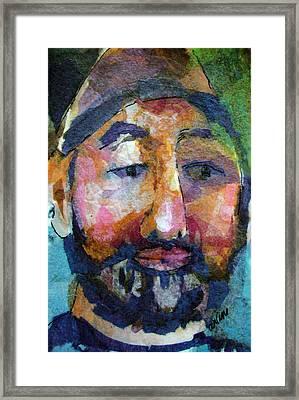 Barry Hornblower Framed Print by Arline Wagner