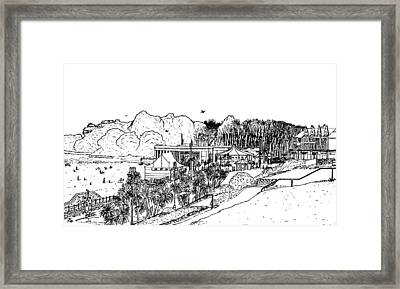 Barry Island Number 4 Framed Print