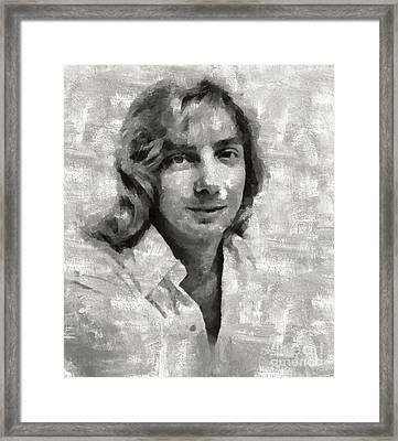 Barry Manilow, Musician Framed Print