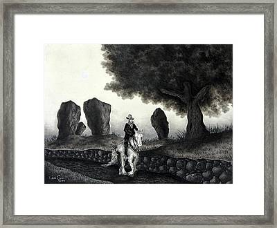 Barry Of Thierna Framed Print