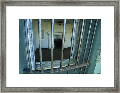 Bars And Fireplace - Fort Rucker Area Framed Print by Soli Deo Gloria Wilderness And Wildlife Photography