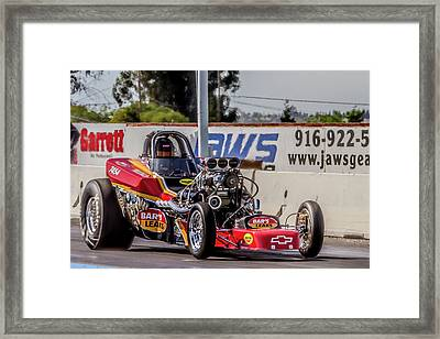 Bars Leak Racer Framed Print by Bill Gallagher