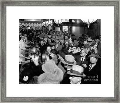 Bars Open Framed Print by Jon Neidert
