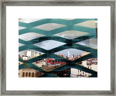 Framed Print featuring the photograph Bars_1 by Karni Dorell