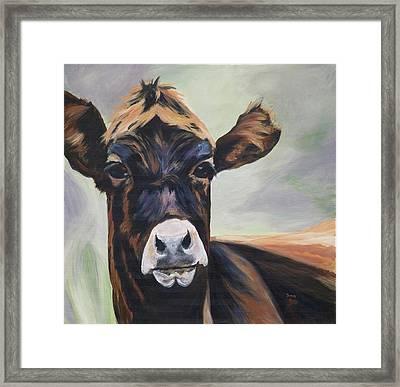 Barthala-moo Framed Print