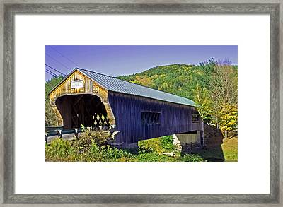 Bartonsville Bridge Framed Print