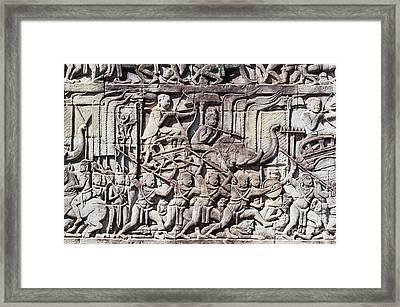 Bas-reliefs II Framed Print