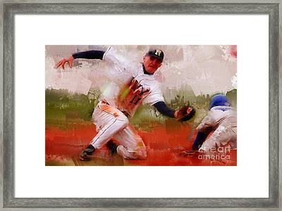 Base Ball 02 Framed Print