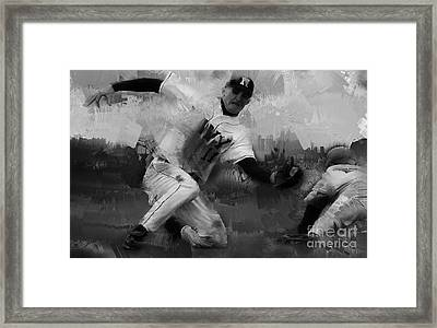 Base Ball  Framed Print