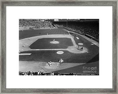 Baseball Game, 1967 Framed Print