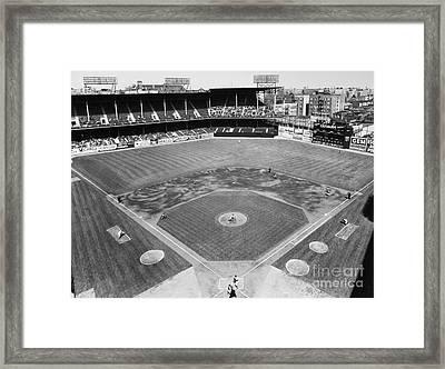 Baseball Game, C1953 Framed Print by Granger