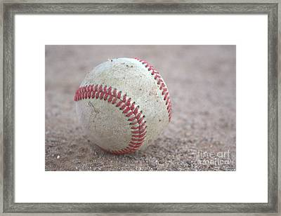 Baseball  Framed Print
