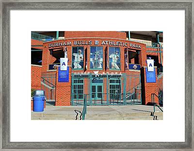 Baseball Stadium Framed Print