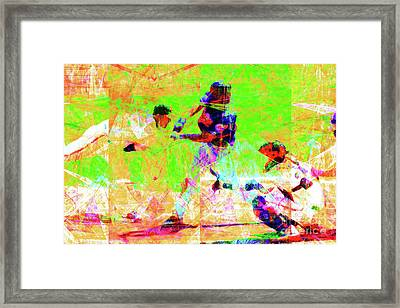 Baseball The All American Pastime 20160801 Framed Print by Wingsdomain Art and Photography