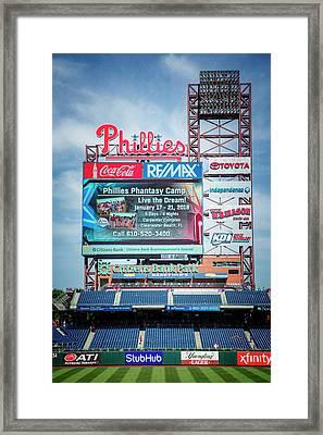 Baseball Time In Philly Framed Print