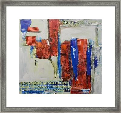 Based On True Events Framed Print by Sue Furrow