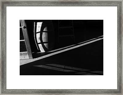 Basement Framed Print by Catherine Lau
