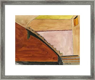 Basement Framed Print by Robert Wittig