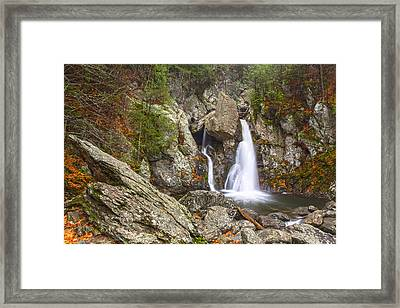 Bash Bish Falls In November 2 Framed Print
