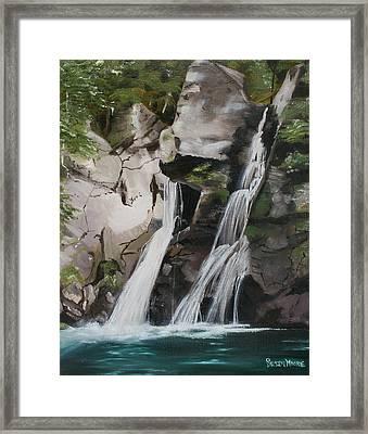 Bash Bish Falls Framed Print by Susan Moore