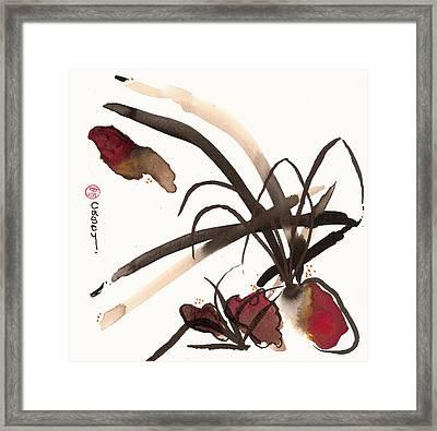 Basho Framed Print