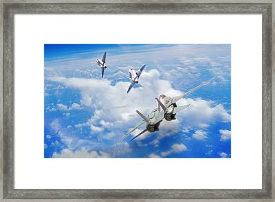 Basic Fighter Maneuvers Framed Print