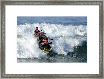 Basic Underwater Demolitionseal Buds Framed Print by Stocktrek Images