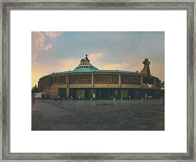 Basilica De Guadalupe 10 Framed Print
