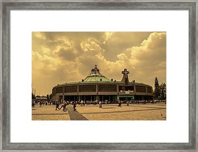 Basilica De Guadalupe - Mexico I Framed Print
