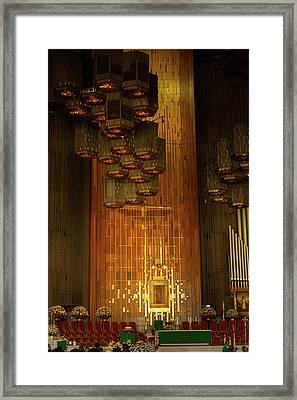 Basilica De Guadalupe - Mexico V Framed Print