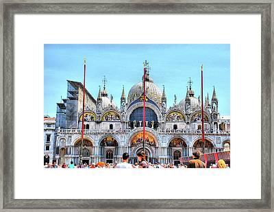 Basilica Di San Marco Framed Print by Sarah E Ethridge