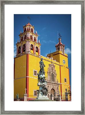 Basilica Facade Framed Print