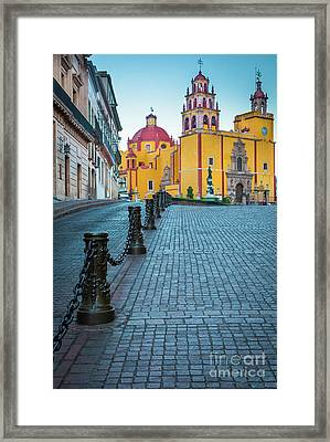 Basilica Of Our Lady Of Guanajuato Framed Print