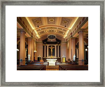 Basilica Of Saint Louis, King Of France Framed Print