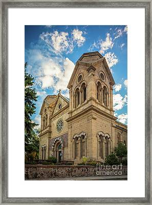 Basilica Of St. Francis Of Assisi Framed Print