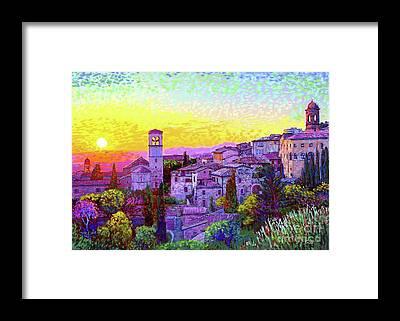 Basilica Framed Prints
