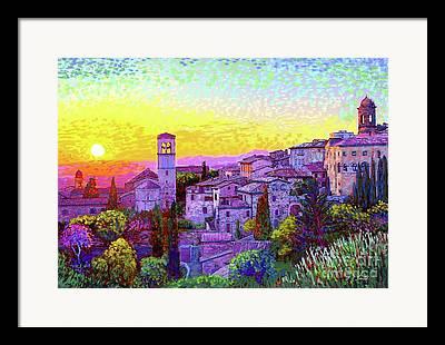 Umbria Framed Prints