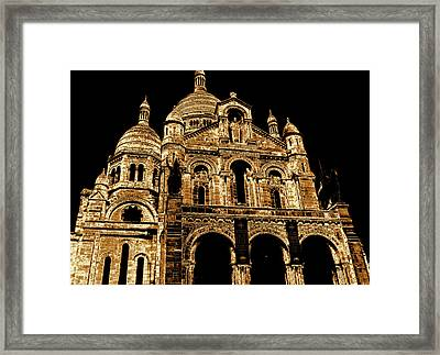 Basilica Of The Sacred Heart Framed Print