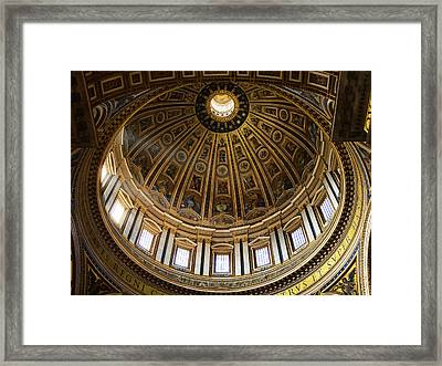 Framed Print featuring the photograph Basilica by Stefan Nielsen