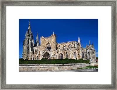 Basilique Notre - Dame De L'epine Framed Print