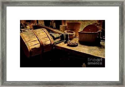 Basket Making Framed Print
