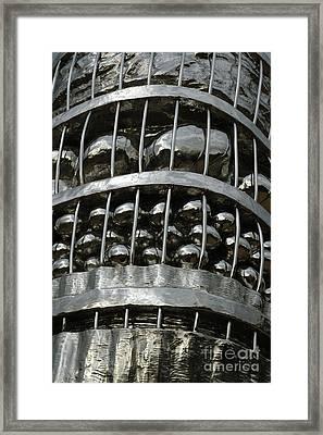 Basket Of Farmer's Produce. Framed Print