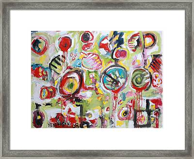 Basket Of Fruit Framed Print by Michael Henderson