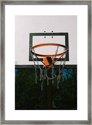Basket Ring Framed Print