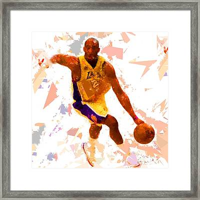 Framed Print featuring the painting Basketball 24 A by Movie Poster Prints