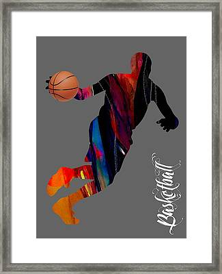 Basketball Collection Framed Print