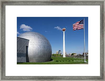Basketball Hall Of Fame Framed Print by John Greim
