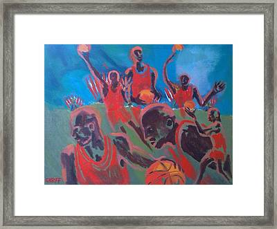 Basketball Soul Framed Print