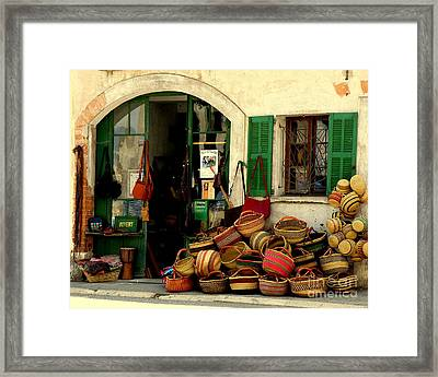 Baskets Anyone Framed Print by Lainie Wrightson