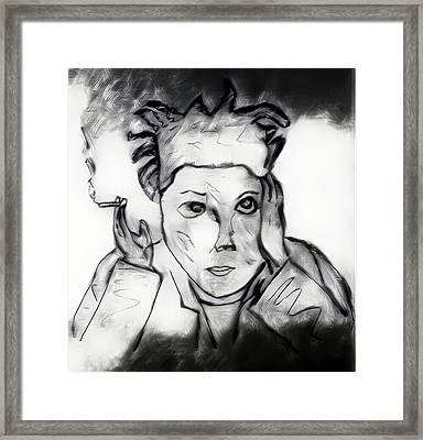 Basquiat Framed Print by Jason Joseph